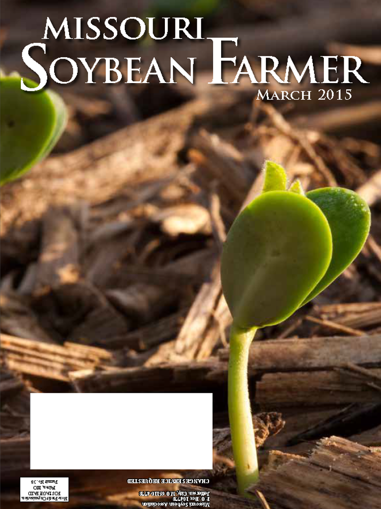 March 2015 Issue of Missouri Soybean Farmer Now Available