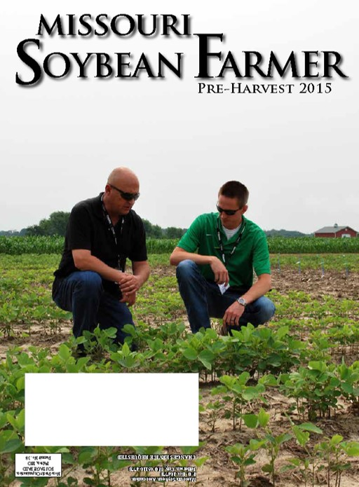Pre-Harvest 2015 Issue of Missouri Soybean Farmer Now Available