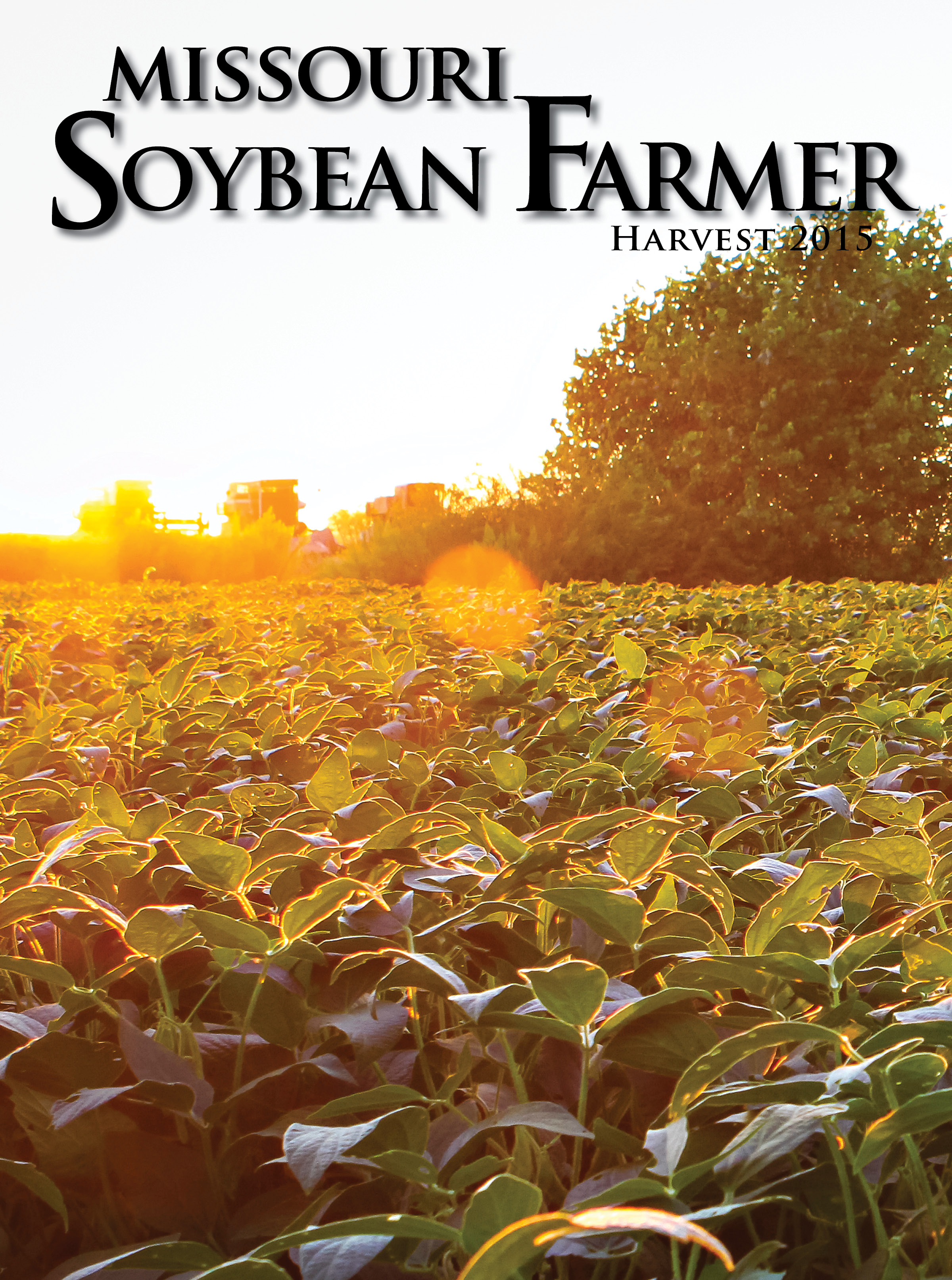 Harvest 2015 Issue of Missouri Soybean Farmer Available Now