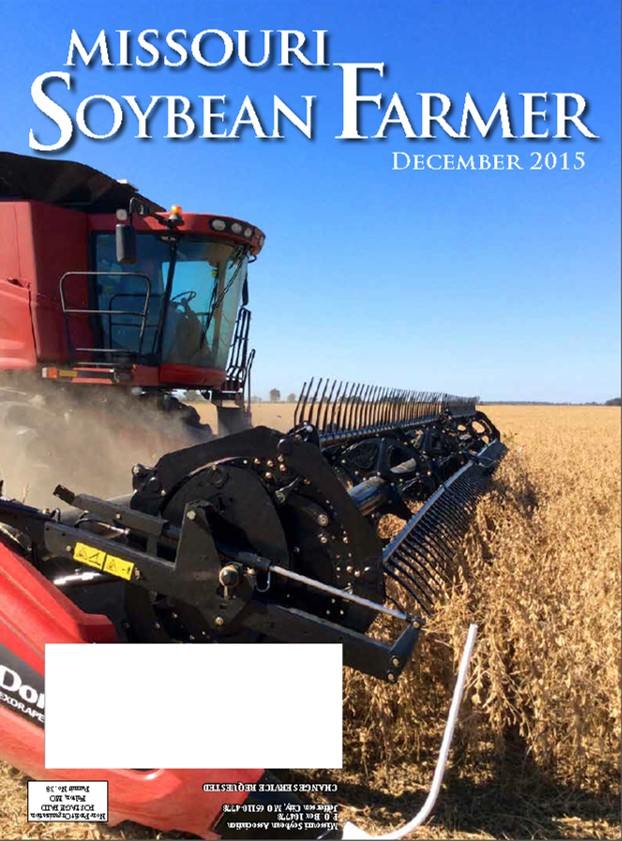 December 2015 Issue of Missouri Soybean Farmer Now Available