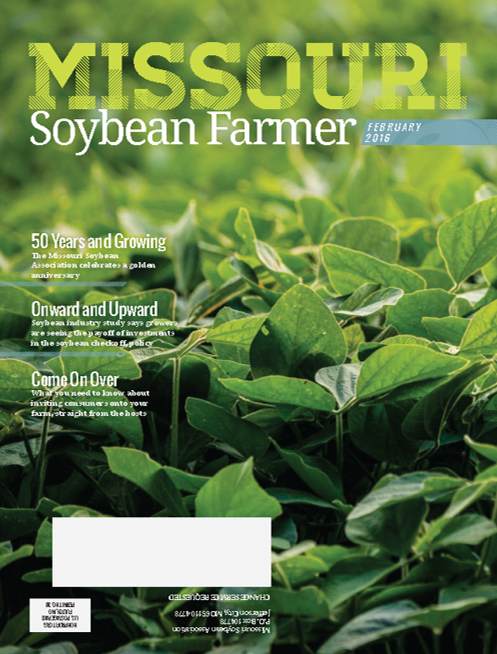February 2016 Issue of Missouri Soybean Farmer Now Online