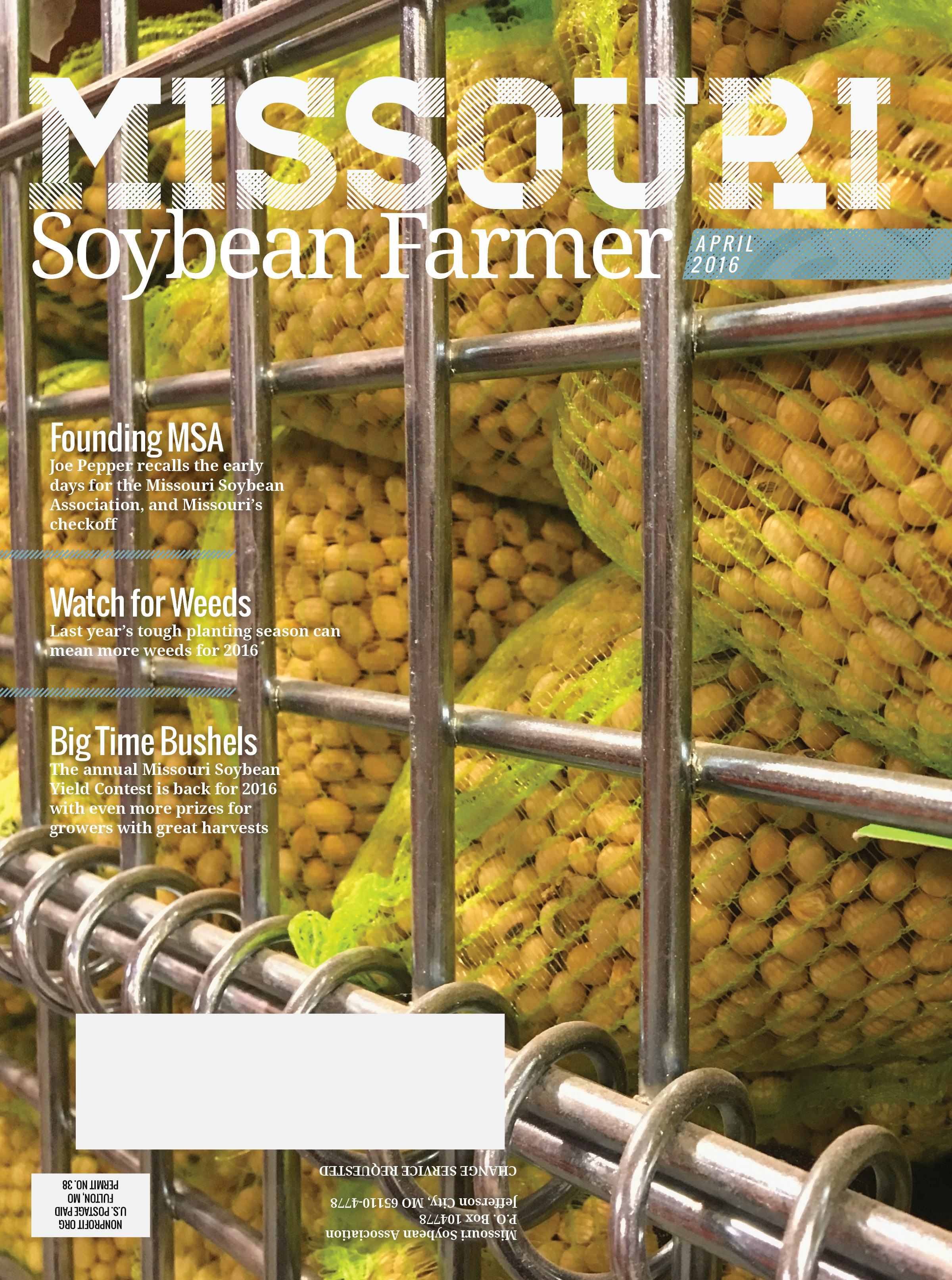 April 2016 Issue of Missouri Soybean Farmer Now Online