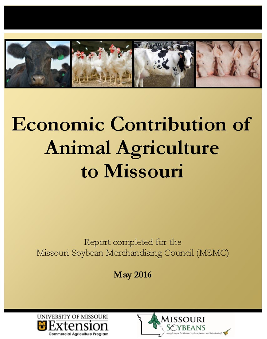 New Report Reviews Economic Contributions of Animal Agriculture in Missouri