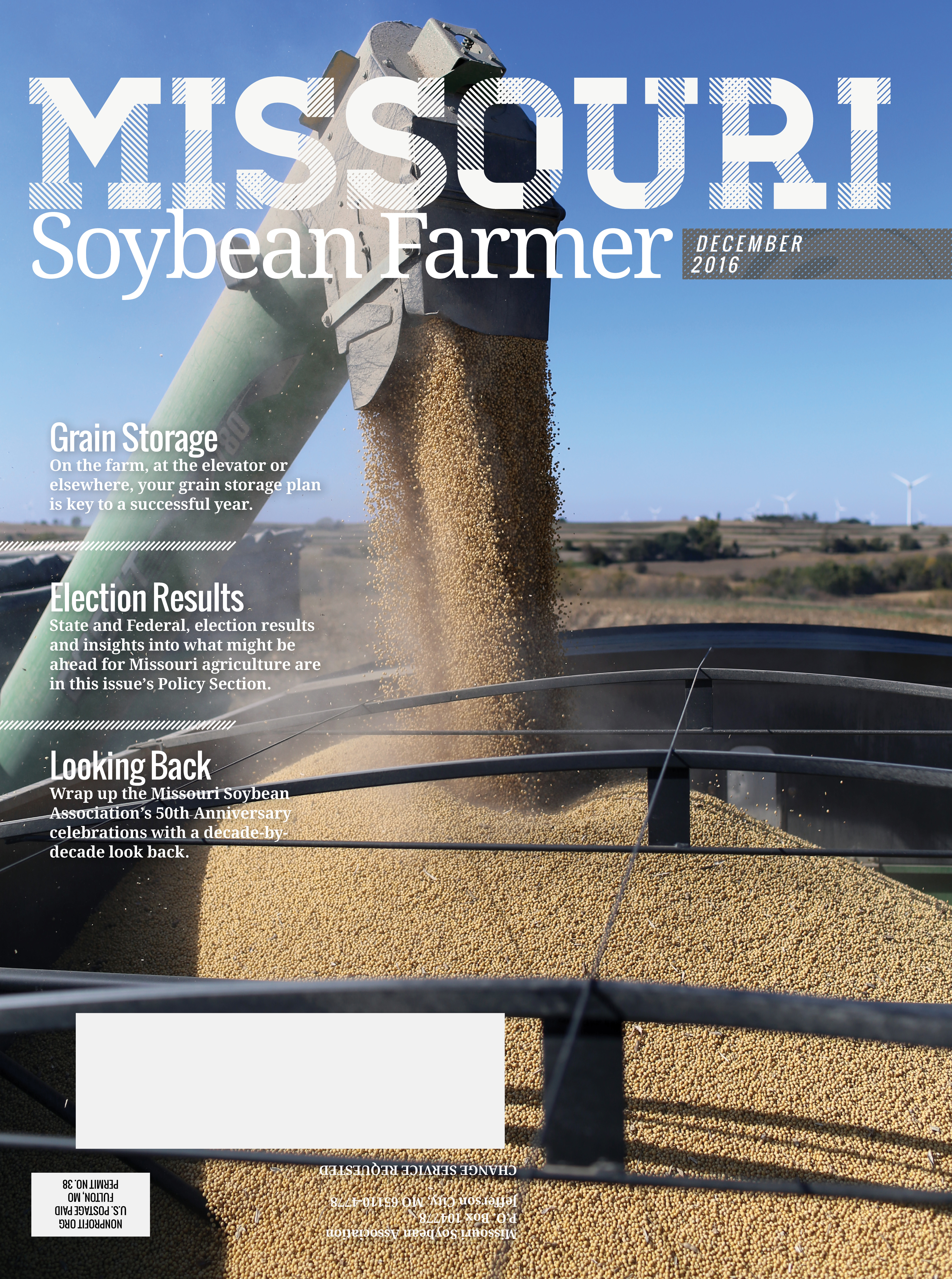 Online Now: December 2016 Issue of Missouri Soybean Farmer