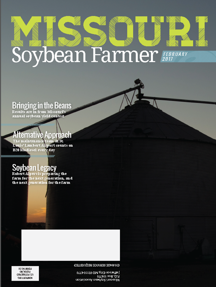 February 2017 Missouri Soybean Farmer Magazine Available Now