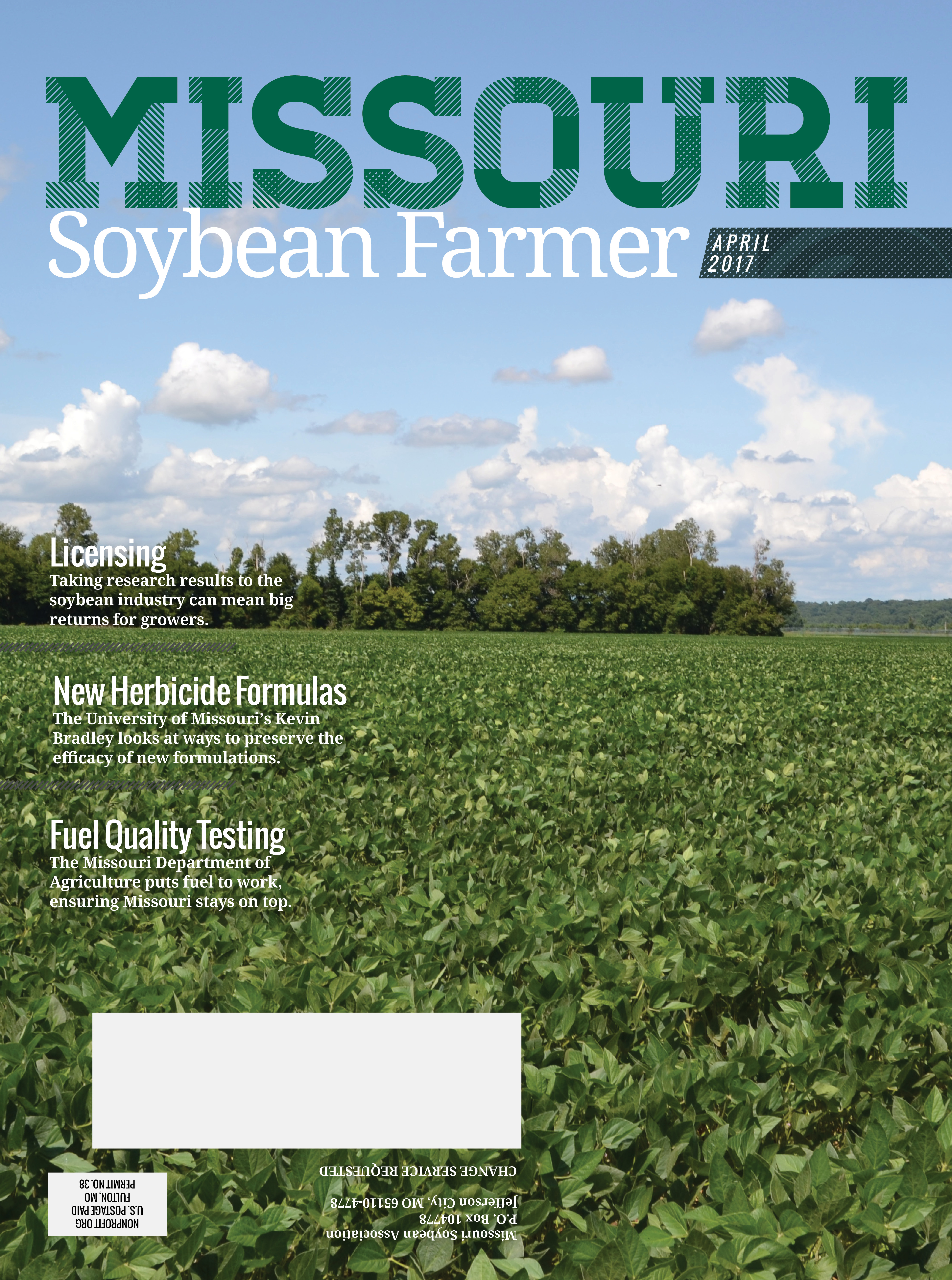 Missouri Soybean Farmer April 2017 Issue Online Now