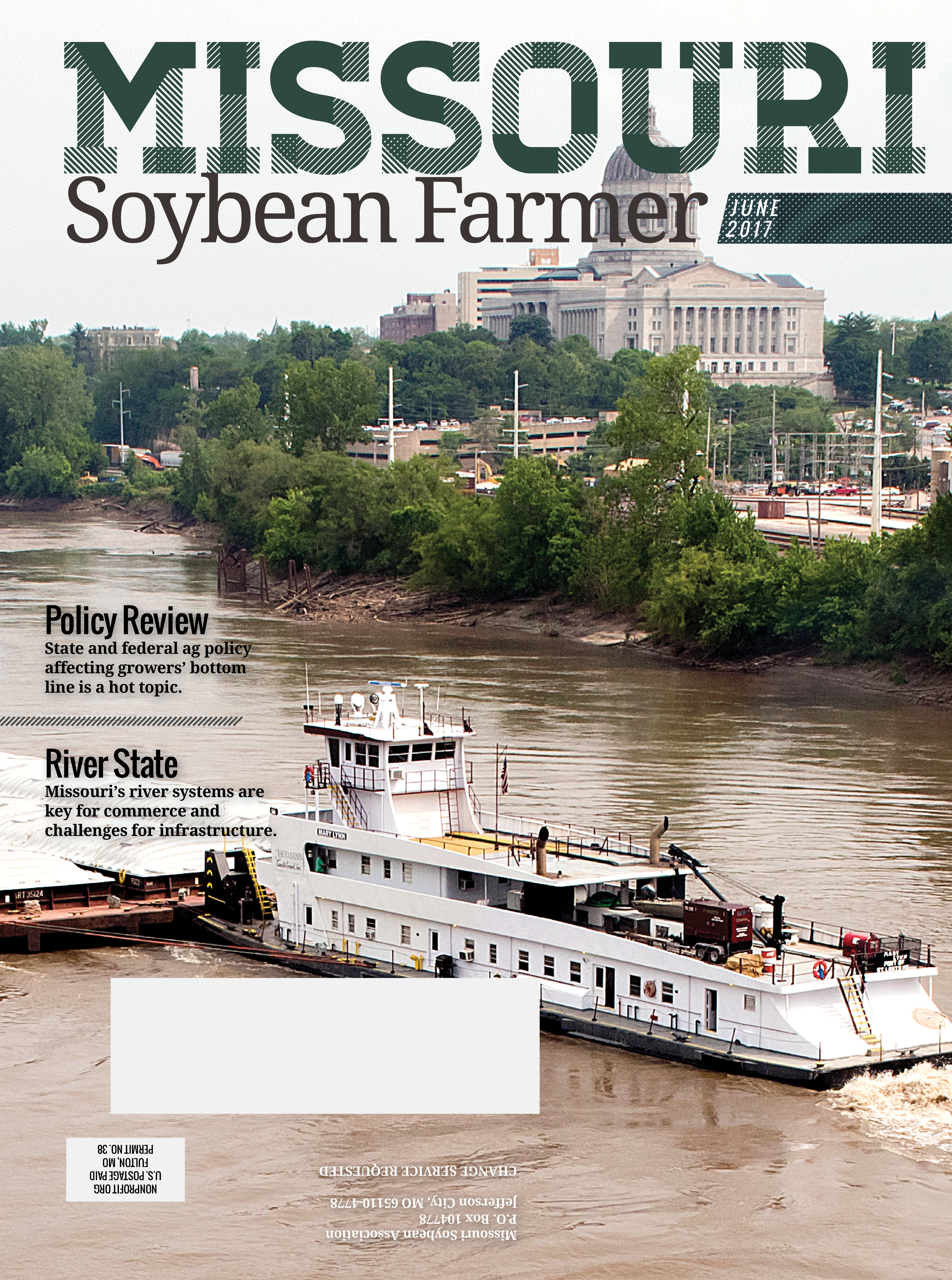 Read the June 2017 Issue of Missouri Soybean Farmer