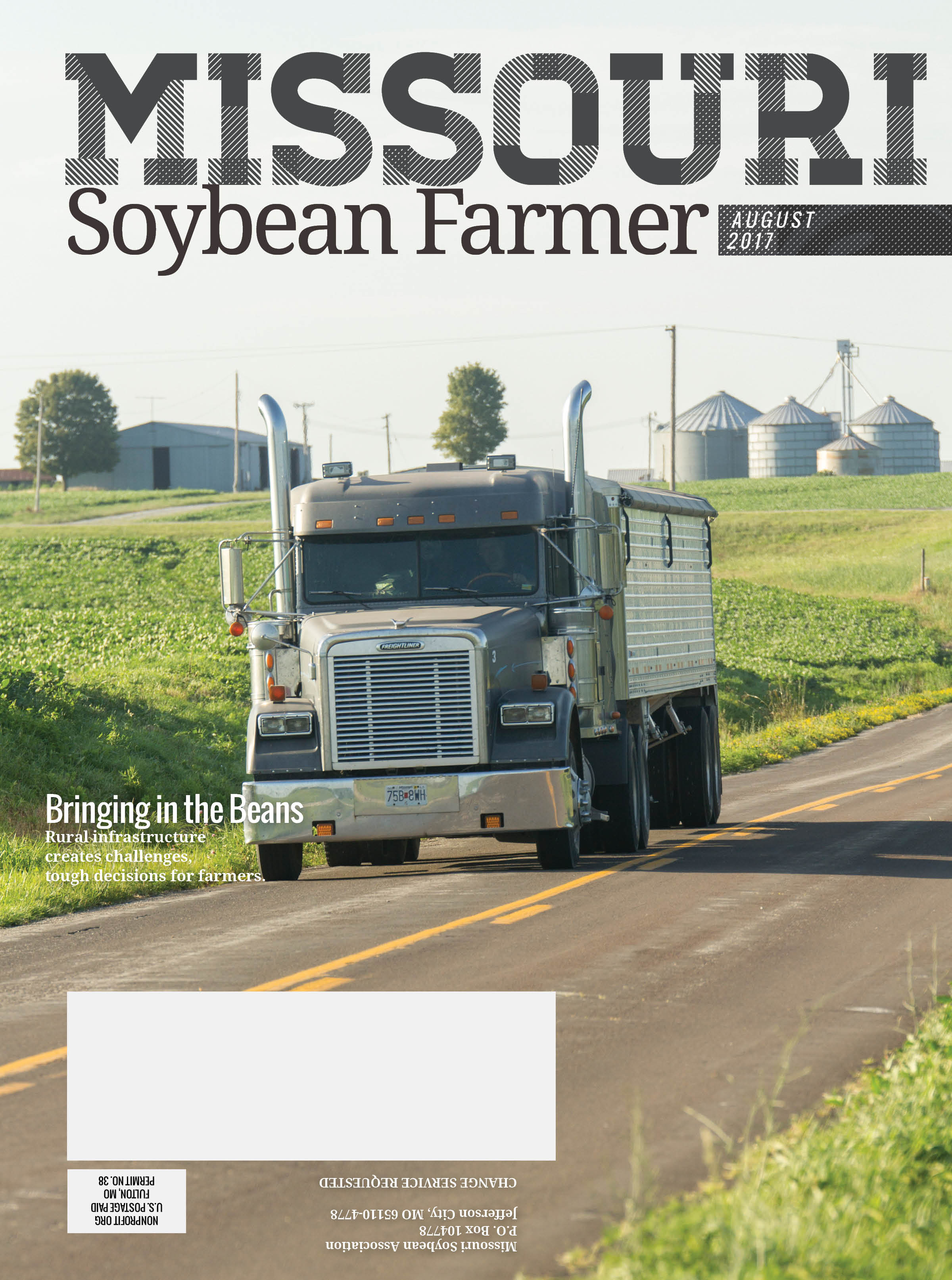 August 2017 Issue of Missouri Soybean Farmer Out Now