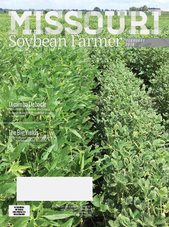 Read the February 2018 Issue of Missouri Soybean Farmer