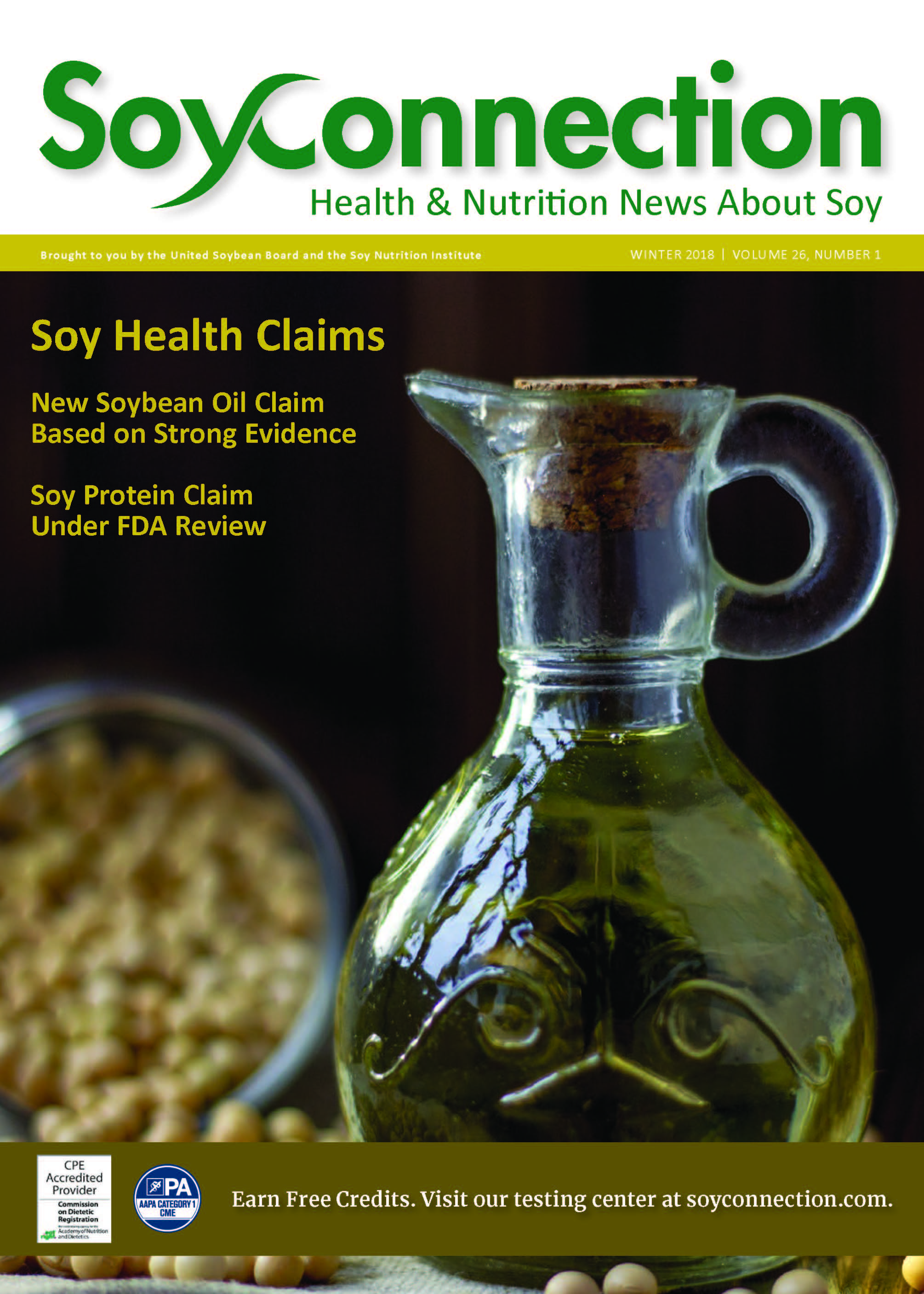 Winter 2018 Issue of Soy Connection Available Now