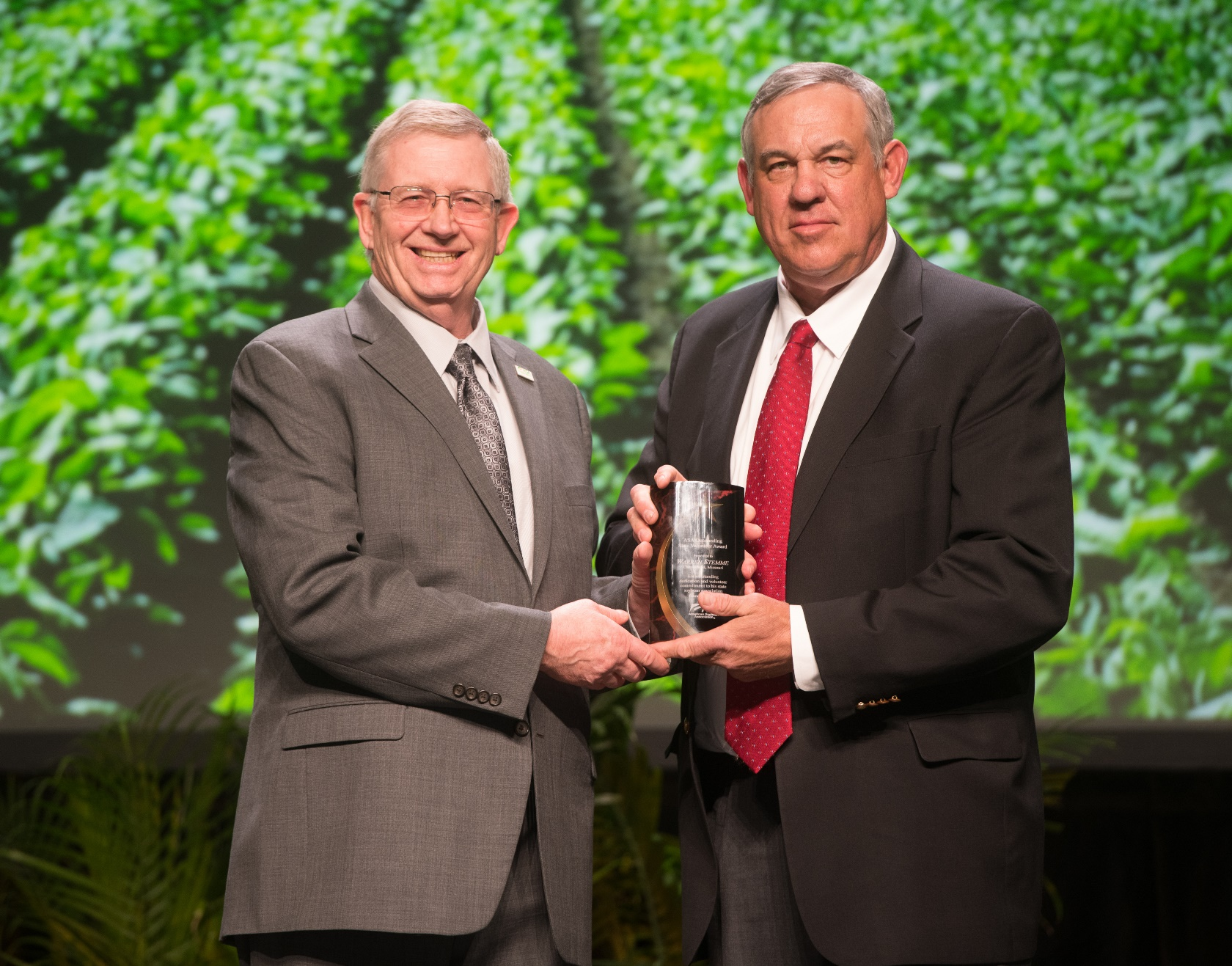 ASA Honors Warren Stemme with Outstanding State Volunteer Award