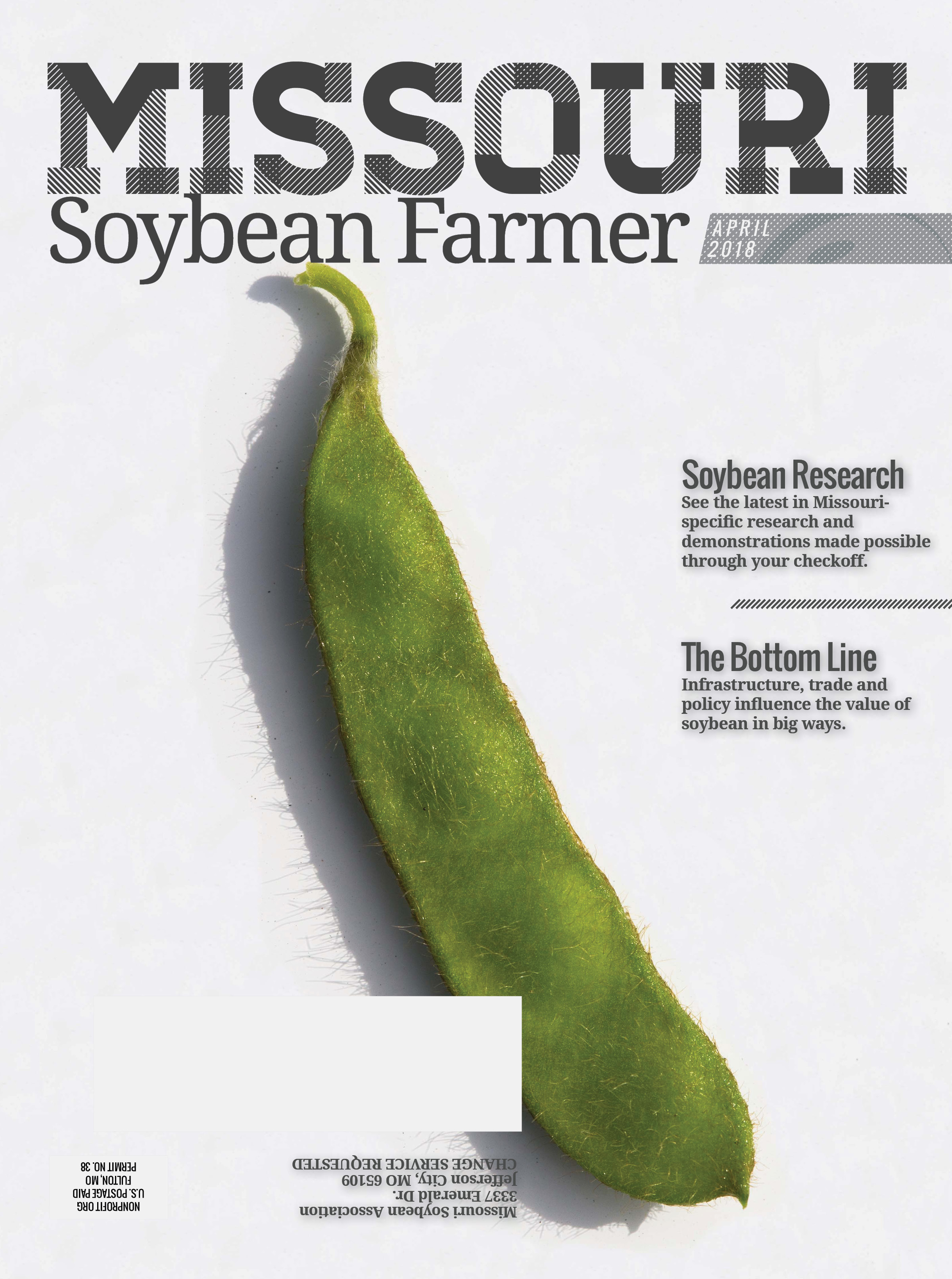 Read the April 2018 Issue of Missouri Soybean Farmer Now