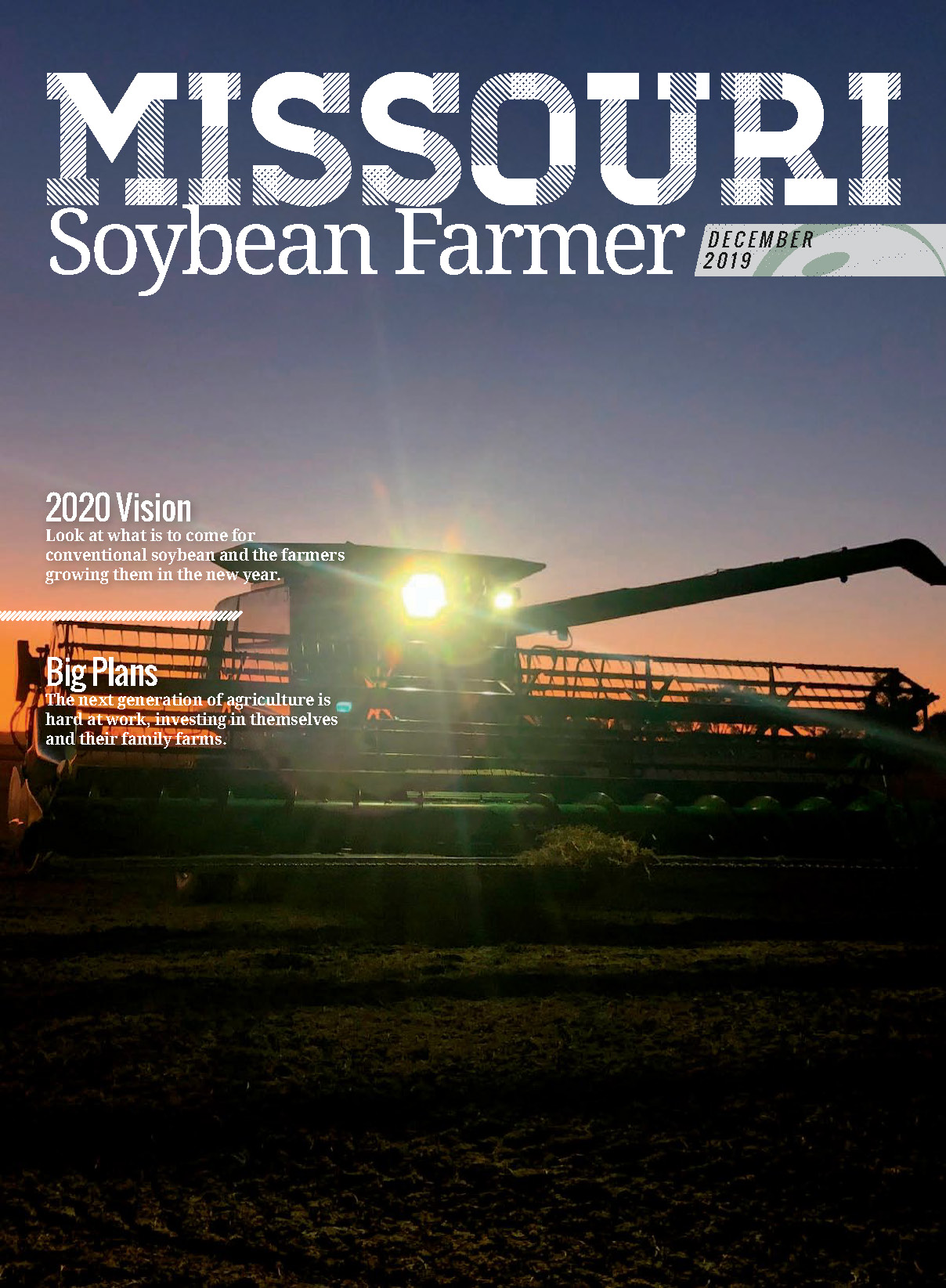 December 2019 Issue of Missouri Soybean Farmer Magazine Available Now